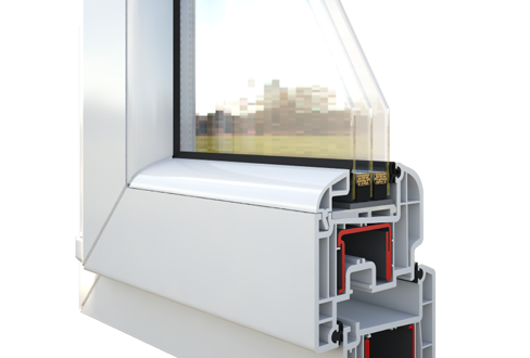 Окно Rehau Blitz-Design