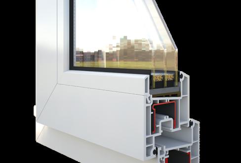 Окно Rehau Sib-Design