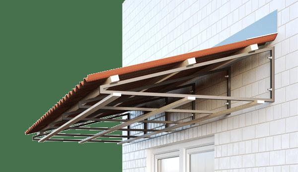 Алюминиевое остекление под крышу
