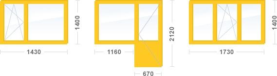 Двухкомнатная квартира, панельный дом cерия П-43