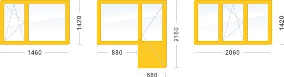 Двухкомнатная квартира, панельный дом cерия П-46 М